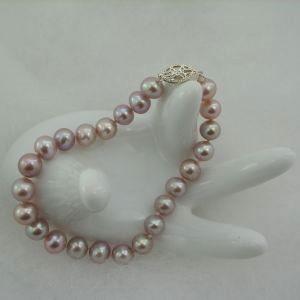 Lavender Cultured Pearl Bracelet 7 mm