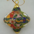 Cloisonne Finial Christmas Ornament