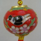 Cloisonne Ball Christmas Ornament